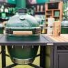 Керамический гриль Big Green Egg MEDIUM  в модульном столе  фото_4
