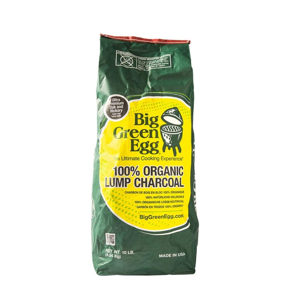 Органический древесный уголь для гриля Big Green Egg 4,5 кг