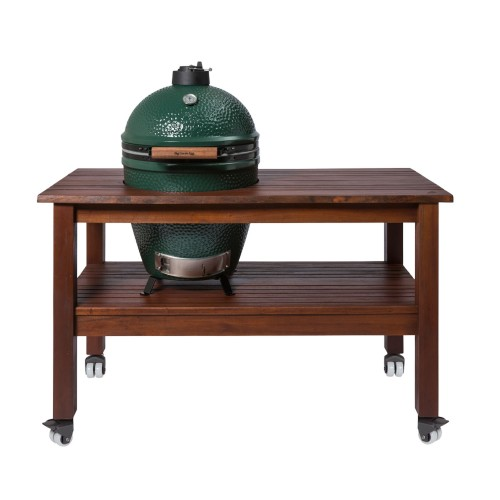 Длинный стол для Big Green Egg L (Махагон)