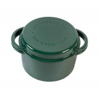 Казан круглий чугунный Big Green Egg,  4L