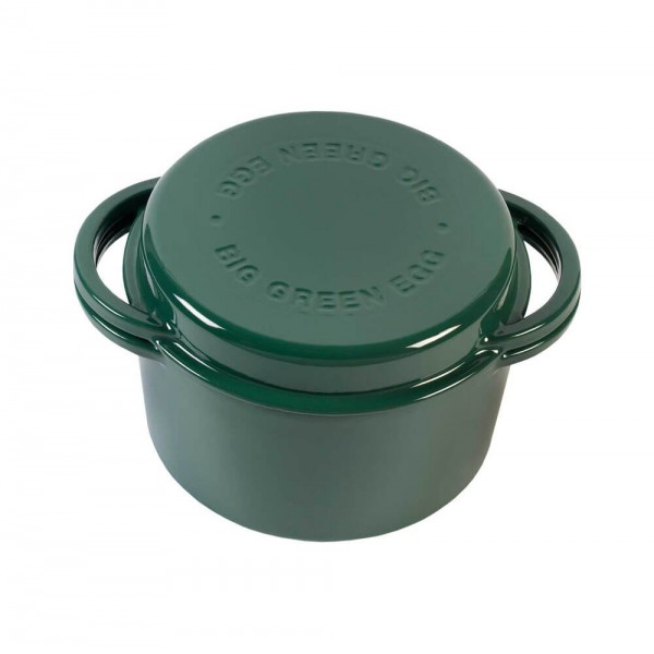 Казан круглий чугунный Big Green Egg  4 L