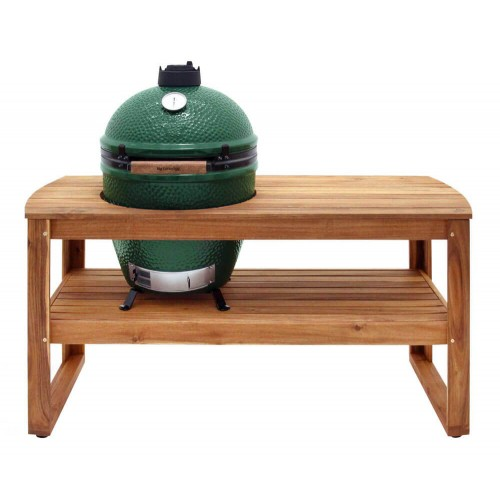 Стол из акации для Big Green Egg L