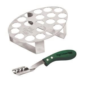 Подставка для 20 фаршированных перчиков с ножом