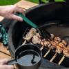 Чугунная решетка для приготовления на деревянных шампурах, Big Green Egg фото_4